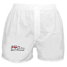 Costa rican girl friend Boxer Shorts