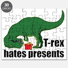 T-rex hates presents Puzzle