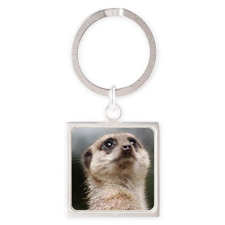 Pillow Case Meerkat 1 Square Keychain