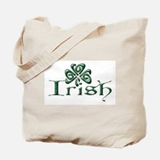 Irish: Celtic Shamrock' Tote Bag