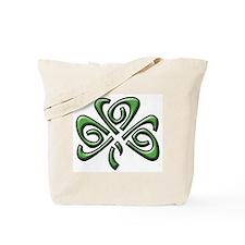 Irish: Celtic Shamrock' Tote Bag