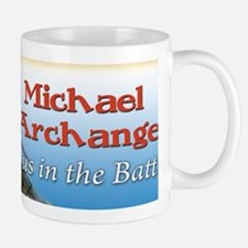 St Michael bumper sticker Mug