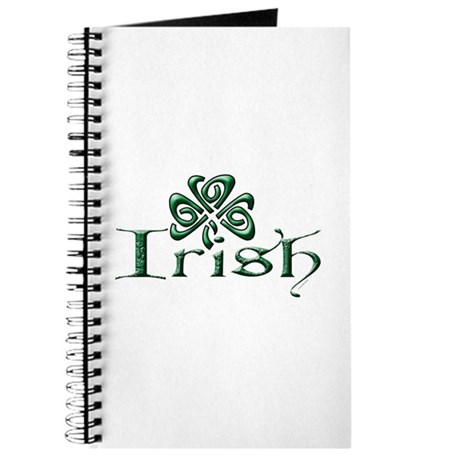 Irish: Celtic Shamrock' Journal