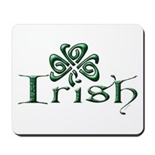 Irish: Celtic Shamrock' Mousepad