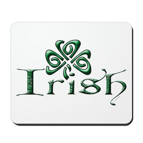 Irish: Shamrock Mousepad