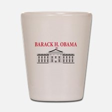 2013 inauguration day b(blk) Shot Glass