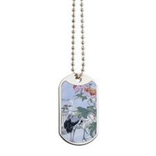 PwrBnk-CranePeony Dog Tags