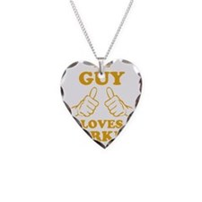 This Guy Loves Turkey Necklace