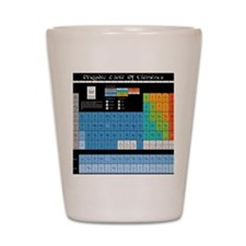 Math Table Shot Glass