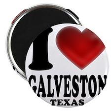 I Heart Galveston, Texas Magnet