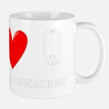 Peace, Love, Geocaching Mug