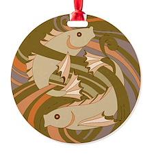 Deco Fish Brown Ornament