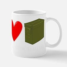 Peace, Love, and Geocaching Mug