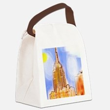 Empire State Building, New York C Canvas Lunch Bag