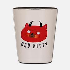 Bad Kitty Shot Glass