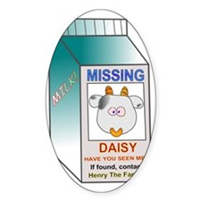Daisy the missing cow Decal