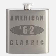 1962 Birthday Classic Flask