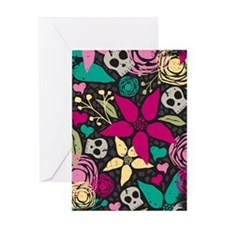 creepyfloral_kindle Greeting Card