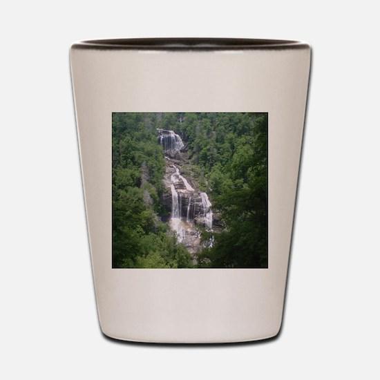 High Falls, Dupont State Forrest, NC Shot Glass