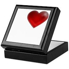 I Heart Galveston, Texas Keepsake Box
