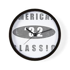 1932 Birthday Classic Wall Clock