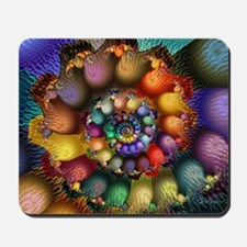 Textured Spiral for Cards Mousepad