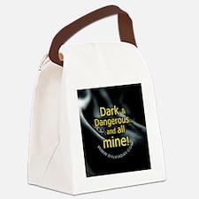 Dark  Dangerous Canvas Lunch Bag