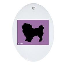 Tibbie iPet Oval Ornament
