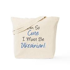 Im So Cute Ukrainian Tote Bag
