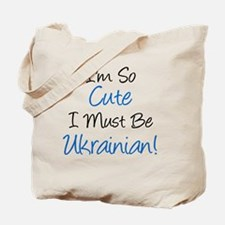 Im So Cute Ukrainian Tote Bag