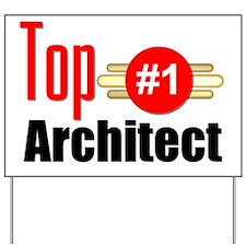 Top Architect Yard Sign