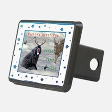 Rudolph Newfy and Wildlife Hitch Cover