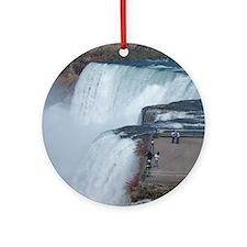 Niagara Falls, NY Round Ornament