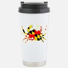 Maryland Crab Stainless Steel Travel Mug
