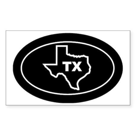 TX - Texas Sticker (Rectangle)