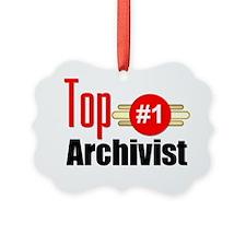 Top Archivist Ornament