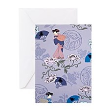 japanese ladies Greeting Card
