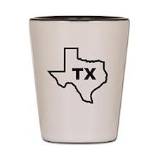 TX - Texas Shot Glass