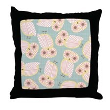 owl toss 60 Throw Pillow