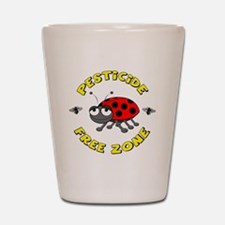Pesticide Free Zone Shot Glass