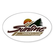 Sunline Owner's Club Oval Decal