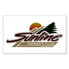 Sunline Owner's Club Rectangle Decal