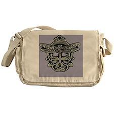 Art Nouveau Dragonfly Mist Messenger Bag