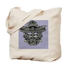 Art Nouveau Dragonfly Mist Tote Bag