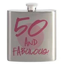 50 And Fabulous Flask