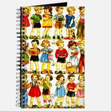 Vintage German Paper Dolls Journal