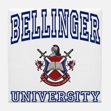 BELLINGER University Tile Coaster