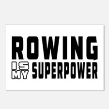 Rowing Is My Superpower Postcards (Package of 8)