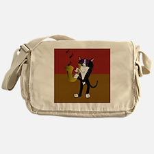 Cool Cat Messenger Bag