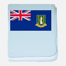 British Virgin Islands baby blanket